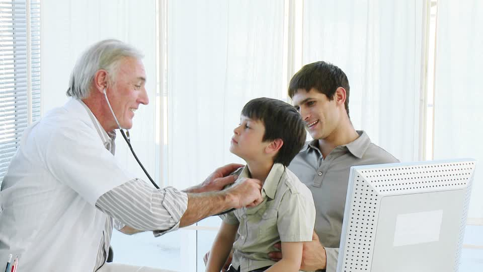 medical check-up for child
