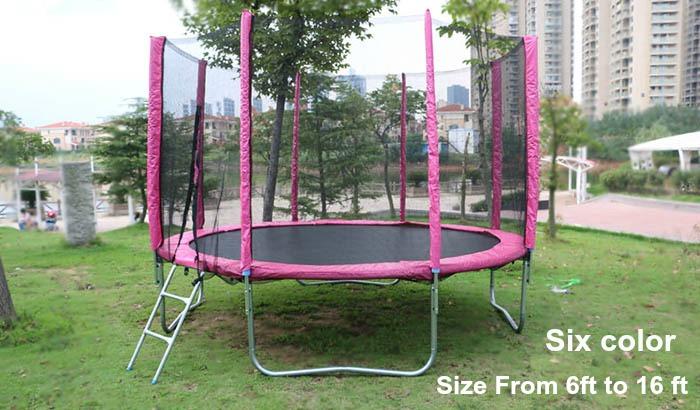 round trampoline all size