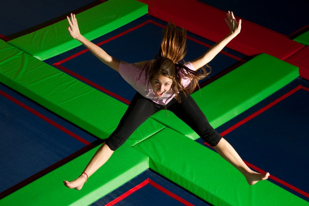 trampoline exercise class