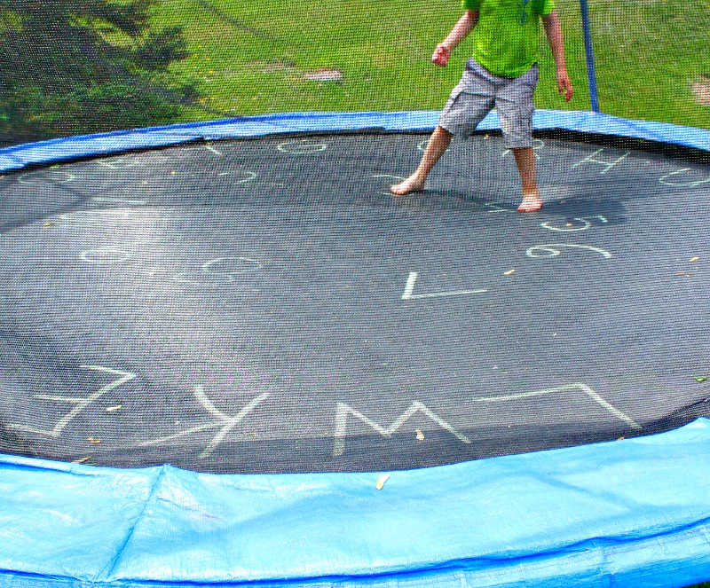 Outdoor Trampoline Games That Will Make You More Enjoyable - Domi Jump
