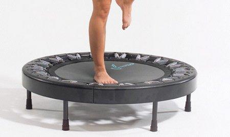Rebounding trampoline