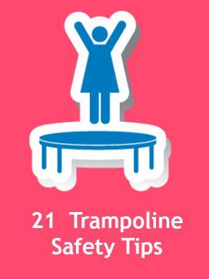 21 trampoline tips