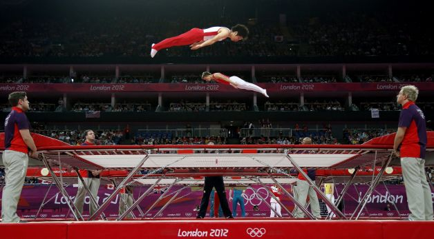 Olympics trampoline