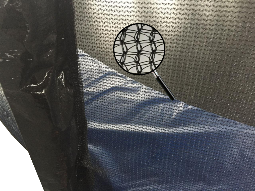 details about the trampoline safty net