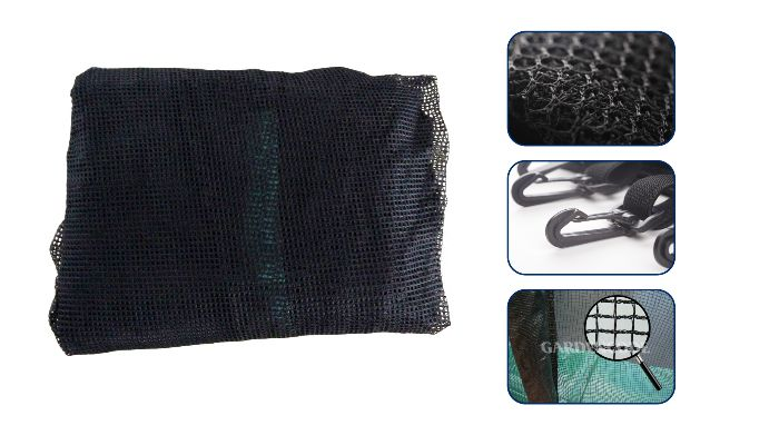 trampoline safety nets material