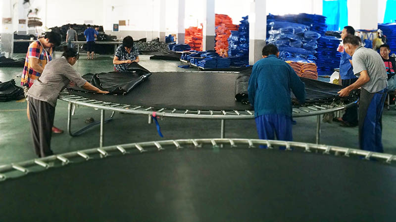 trampoline factory
