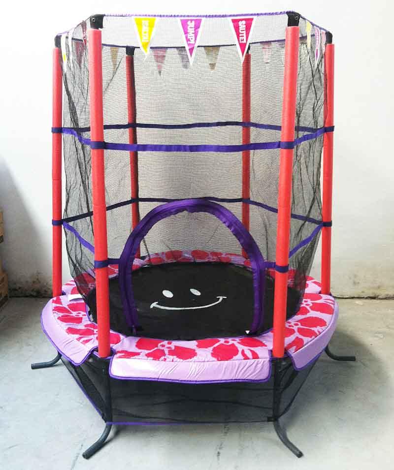 colorful trampoline
