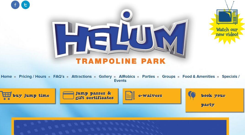 helium trampoline park