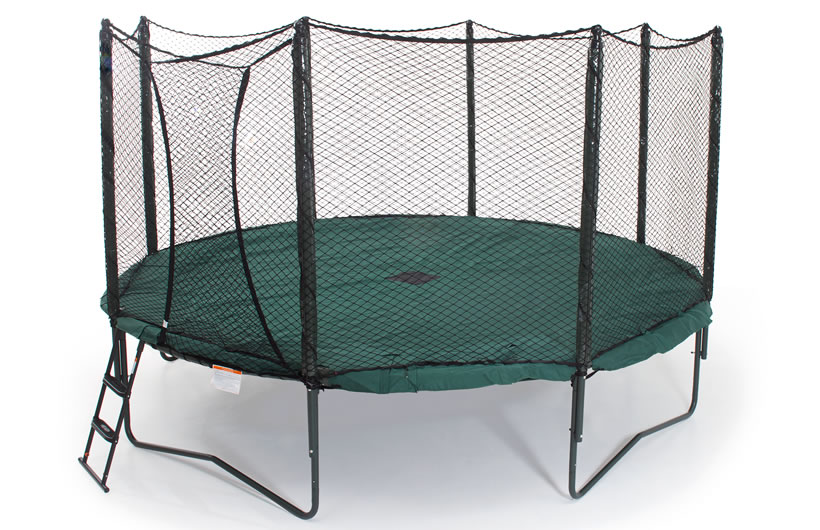 Trampoline safety netting made from Polyester