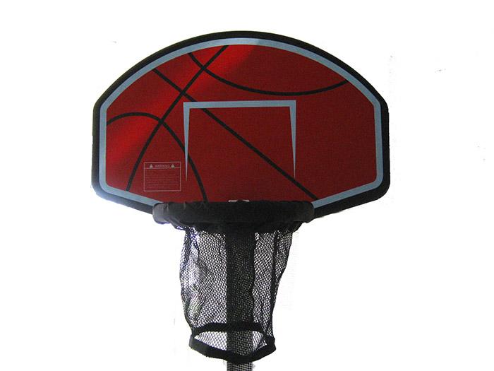 Trampoline Basketball Hoop