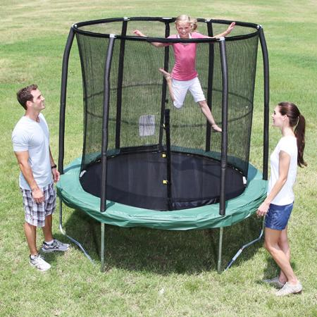 Weight and age limitation of trampoline
